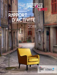 Visuel du rapport d'activité 2019