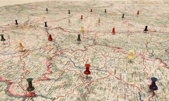 Réaliser une cartographie sensible du territoire au service d'une politique publique